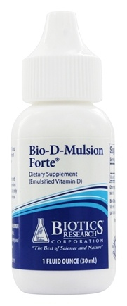 Biotics Research - Bio-D-Mulsion Forte Emulsified Vitamin D - 1 oz.