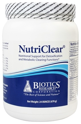 DROPPED: Biotics Research - NutriClear Detox and Metabolic Clearing Support - 24 oz. CLEARANCE PRICED