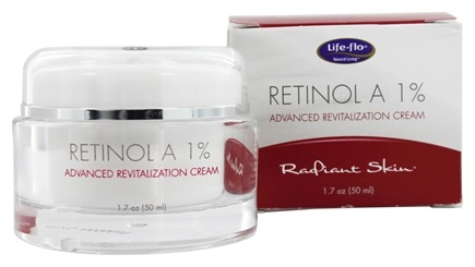 Life-Flo - Retinol A 1% Advanced Revitalization Cream Radiant Skin - 1.7 oz.