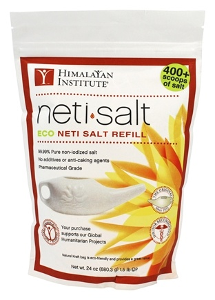 Himalayan Institute - Neti Salt Eco Neti Salt Refill - 1.5 lbs.