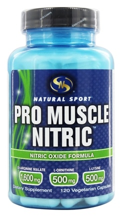 Natural Sport - Pro Muscle Nitric - 120 Vegetarian Capsules