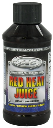 DROPPED: Supplement Training Systems - Red Heat Juice Natural Cherry Flavor - 4 oz. CLEARANCE PRICED