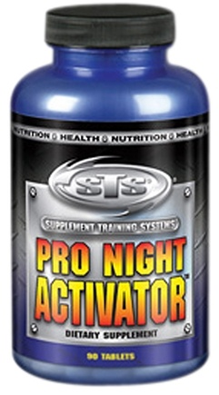 DROPPED: Supplement Training Systems - Pro Night Activator - 90 Tablets CLEARANCE PRICED