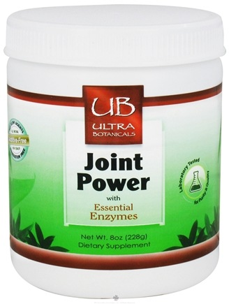 DROPPED: Ultra Botanicals - Joint Powder with Essential Enzymes - 8 oz.