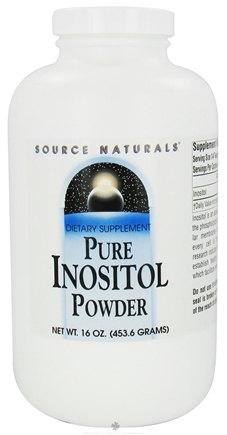 DROPPED: Source Naturals - Pure Inositol Powder - 16 oz. CLEARANCE PRICED