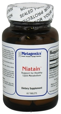 DROPPED: Metagenics - Niatain - 60 Tablets CLEARANCE PRICED