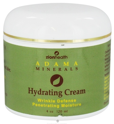 DROPPED: Zion Health - Adama Minerals Hydrating Cream - 4 oz. CLEARANCE PRICED