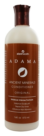 Zion Health - Adama Clay Minerals Conditioner Moisture Intense Formula - 16 oz.