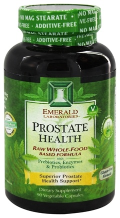 Emerald Labs - Prostate Health Raw Whole-Food Based Formula - 90 Vegetarian Capsules