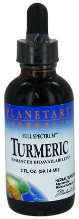 DROPPED: Planetary Herbals - Full Spectrum Turmeric - 2 oz. CLEARANCE PRICED