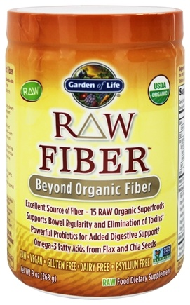 Garden of Life - RAW Fiber - 7 oz.