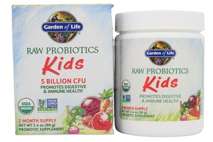 Garden of Life - RAW Probiotics Kids - 3.4 oz.