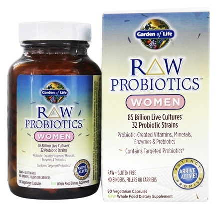 Garden of Life - RAW Probiotics Women - 90 Vegetarian Capsules