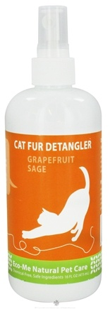 DROPPED: Eco-Me - Cat Fur Detangler Grapefruit Sage - 16 oz. CLEARANCE PRICED