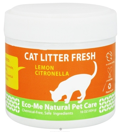 DROPPED: Eco-Me - Cat Litter Fresh Lemon Citronella - 16 oz. CLEARANCE PRICED