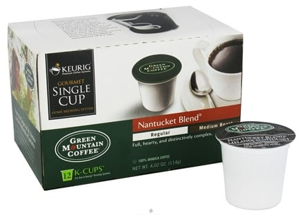 DROPPED: Keurig - Green Mountain Coffee Nantucket Blend 12 K-Cups - 4.02 oz. CLEARANCE PRICED