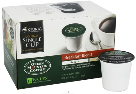 DROPPED: Keurig - Green Mountain Coffee Breakfast Blend 12 K-Cups - 4.02 oz. CLEARANCE PRICED