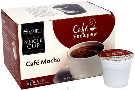 DROPPED: Keurig - Cafe Escapes Cafe Mocha 12 K-Cups - 6.35 oz. CLEARANCE PRICED