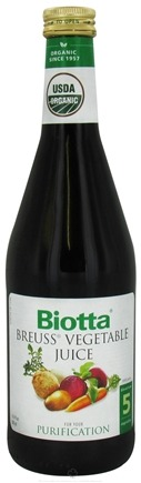 DROPPED: Biotta - Organic Breuss Vegetable Juice - 16.9 oz. CLEARANCE PRICED