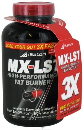 DROPPED: iSatori - MX-LS7 High-Performance Fat Burner - 120 Capsules