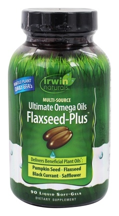 Irwin Naturals - Whole-Plant Oils Omega 3-6-9 - 90 Softgels