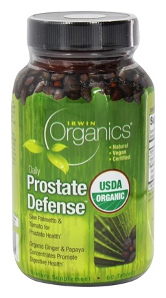 Irwin Naturals - Organics Daily Prostate Defense - 60 Tablets