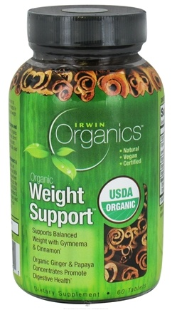 DROPPED: Irwin Naturals - Organics Weight Support - 60 Tablets