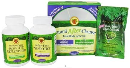 DROPPED: Nature's Secret - Natural After-Cleanse Total-Body Renewal Kit - CLEARANCE PRICED
