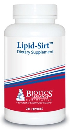DROPPED: Biotics Research - Lipid-Sirt - 240 Capsules CLEARANCE PRICED