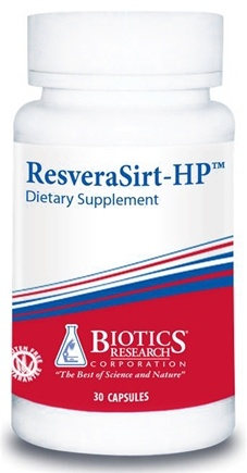 DROPPED: Biotics Research - ResveraSirt-HP - 30 Capsules CLEARANCE PRICED