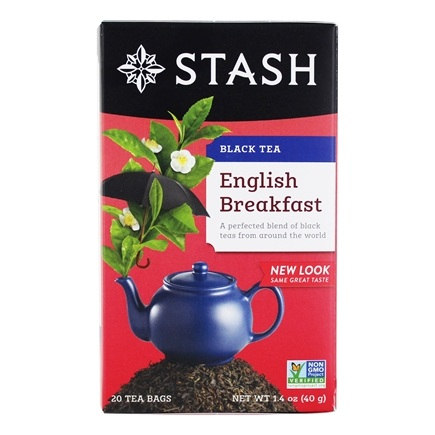 Stash Tea - Premium English Breakfast Black Tea - 20 Tea Bags