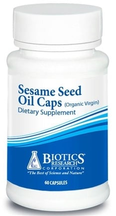 DROPPED: Biotics Research - Sesame Seed Oil - 60 Capsules