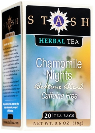 DROPPED: Stash Tea - Premium Caffeine Free Herbal Tea Chamomile Nights - 20 Tea Bags