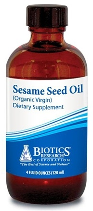 DROPPED: Biotics Research - Sesame Seed Oil - 4 oz. CLEARANCE PRICED