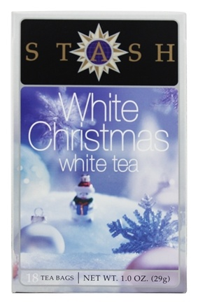 Stash Tea - Premium White Christmas White Tea - 18 Tea Bags