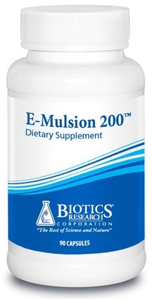 DROPPED: Biotics Research - E-Mulsion 200 - 90 Capsules CLEARANCE PRICED
