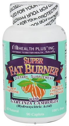 DROPPED: Health Plus - Super Fat Burner with Garcinia Cambogia - 90 Caplets