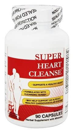 DROPPED: Health Plus - Heart Cleanse Total Body Cleansing System - 90 Capsules