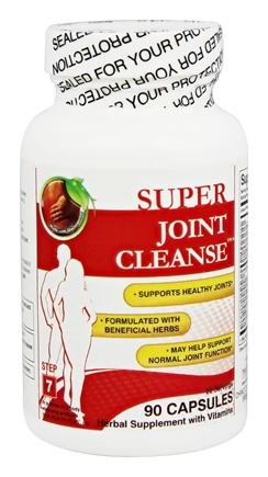 DROPPED: Health Plus - Joint Cleanse Total Body Cleansing System - 90 Capsules CLEARANCE PRICED