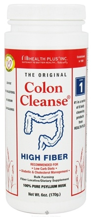 DROPPED: Health Plus - Colon Cleanse The Original High Fiber - 6 oz. CLEARANCE PRICED