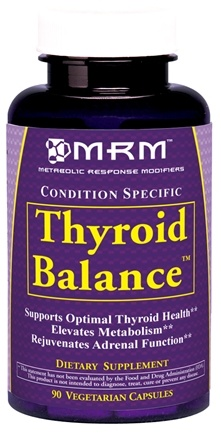 DROPPED: MRM - Thyroid Balance - 90 Vegetarian Capsules CLEARANCE PRICED