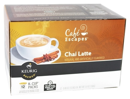 DROPPED: Keurig - Cafe Escapes Chai Latte 12 K-Cups - 5.93 oz.