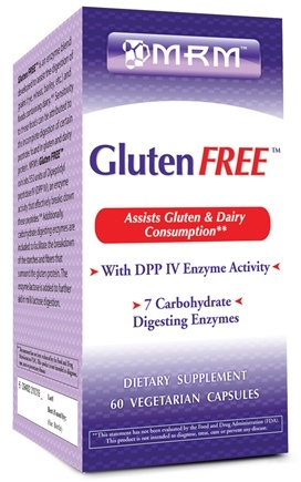 DROPPED: MRM - Gluten Free - 60 Vegetarian Capsules CLEARANCE PRICED