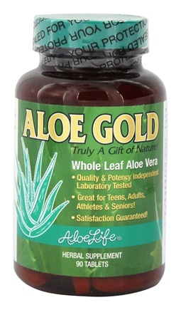 DROPPED: Aloe Life - Aloe Gold - 90 Tablets