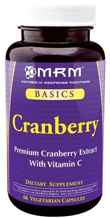 DROPPED: MRM - Cranberry - 60 Vegetarian Capsules