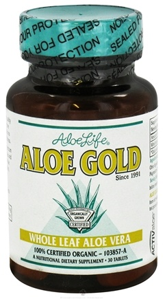 DROPPED: Aloe Life - Aloe Gold - 30 Tablets CLEARANCE PRICED