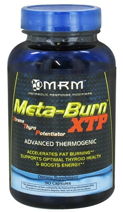 DROPPED: MRM - Meta-Burn XTP Xtreme Thyro Potentiator - 90 Capsules CLEARANCE PRICED