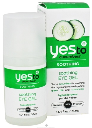 DROPPED: Yes To - Cucumbers Eye Gel Soothing - 1 oz. CLEARANCE PRICED