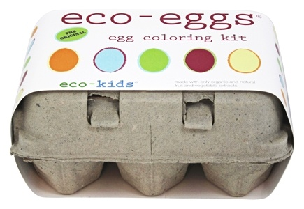 Eco-Kids - Eco-Eggs Easter Egg Coloring & Grass Growing Kit