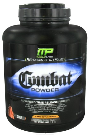 DROPPED: Muscle Pharm - Combat Advanced Time Release Protein Powder Triple Berry - 4 lbs. CLEARANCE PRICED